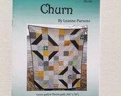 Printed Quilt Pattern - Churn