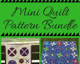 Mini Quilt Pattern Bundle