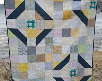 PDF Quilt Pattern - Churn