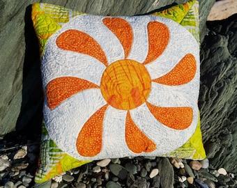 """Cushion Cover 12 x 12 """"Flower Box"""""""