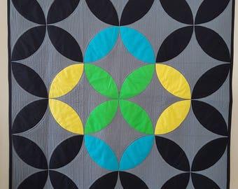 Mix it Up! PDF mini quilt pattern