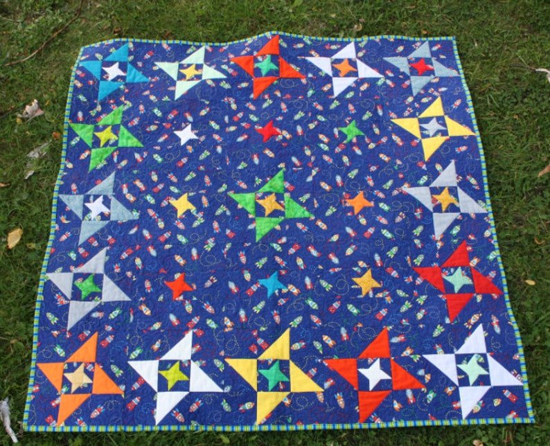 Friendship Galaxy PDF Quilt Pattern image 0