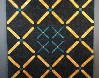 PDF Quilt Pattern - Cross Stitch