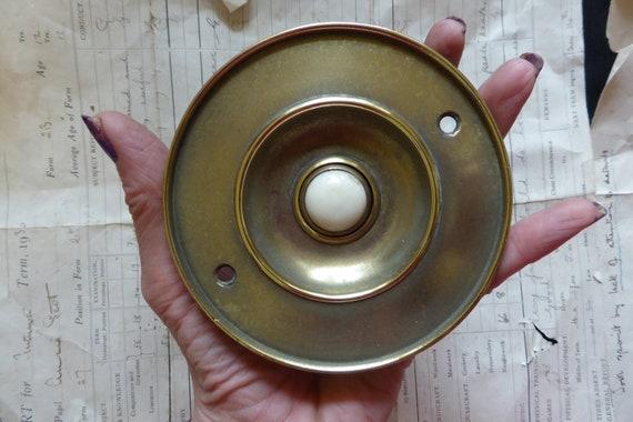 95mm Antique Reclaimed Dexter Brass Tubular Mortice Door Lock vintage tube