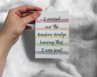 rainbow bridge quote