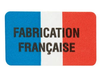 """Labels stickers """"French"""" 3.2 cm * 1.9 cm"""