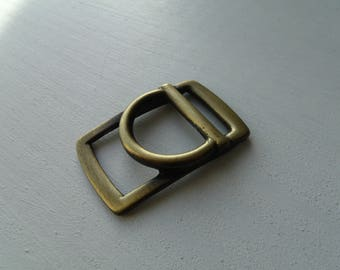 Belt buckle and/or strap metal Bronze 2.3 cm * 2 cm * 4.3 cm
