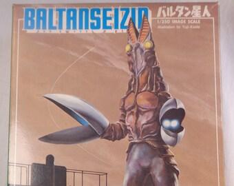 "Bandai ""Baltanseizin"" Plastic model kit.  1966"