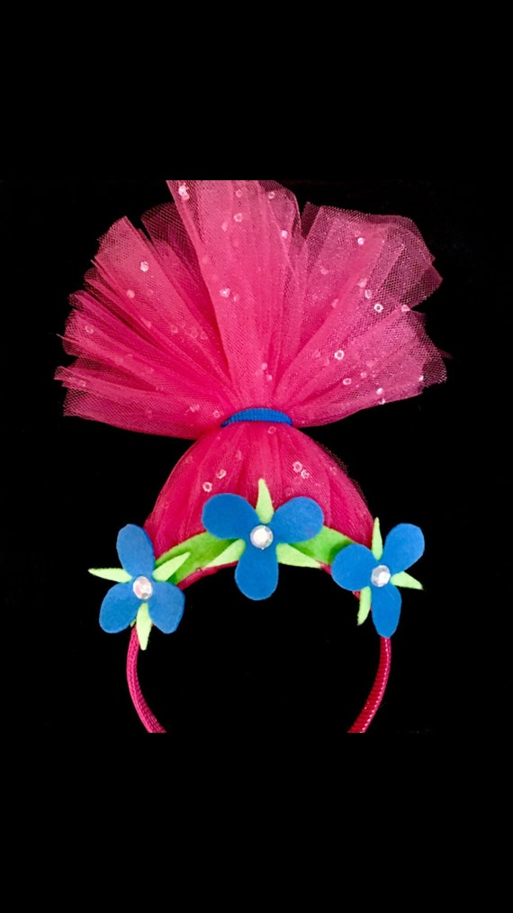 Birthday Gemstone Princess Poppy Hair Poppy Headband Inspired Etsy