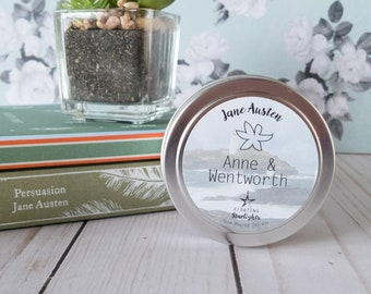 Anne & Wentworth | 4 oz Candle | Persuassion | Jane Austen Candles | Floating Starlights