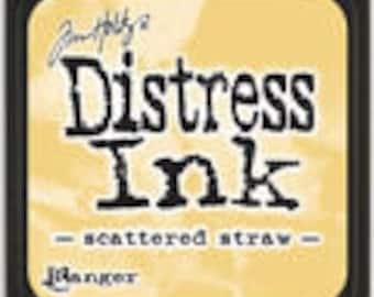 "Tim Holtz Distressed Ink ""Scattered Straw"""