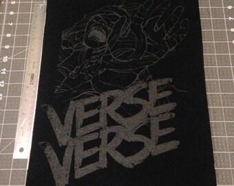 Verse back patch