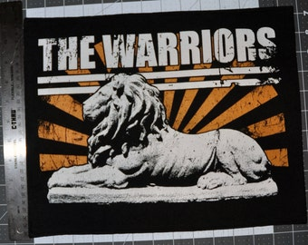 The Warriors back patch