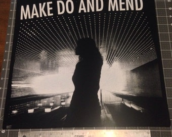 Make Do And Mend back patch