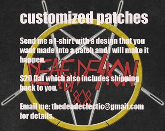 Patches made to order