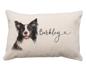 Collie Pillow Etsy