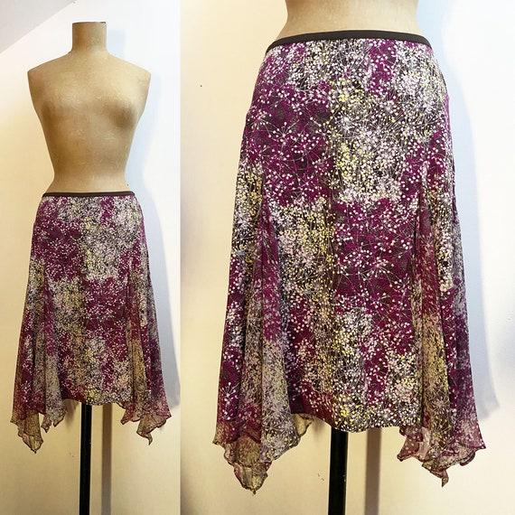 DIANE von FURSTENBERG 20s Revival Silk Skirt - Han