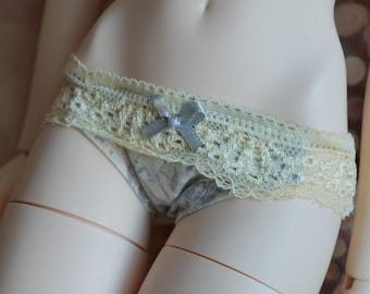 065347a47b160 Iplehouse SID - SD 13 BJD 1 3 girl doll clothes - cute underwear - panties  knickers - lolita black gothic