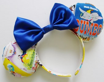 Classic Characters Posters Print Mouse Ears Headband