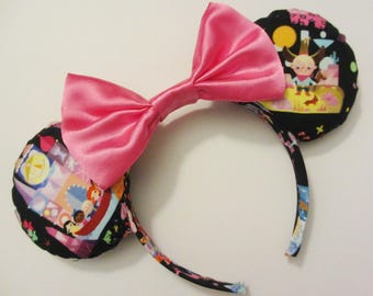 Small World Children Print Mouse Ears Headband