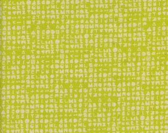 Flower Shop by Alexia Abegg 4047-02 Cipher-Citron Half Yard