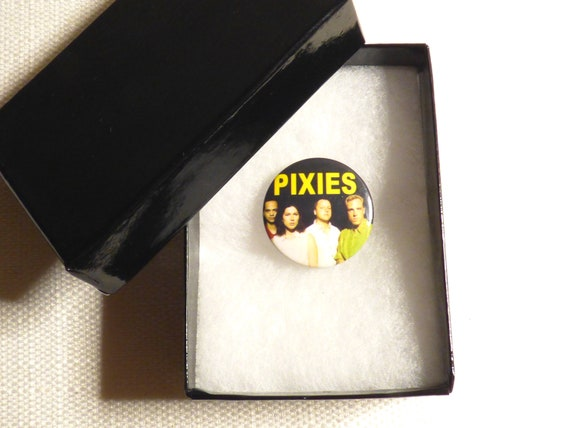 Vintage Late 80s or Early 90s Pixies - Pin / Butt… - image 4