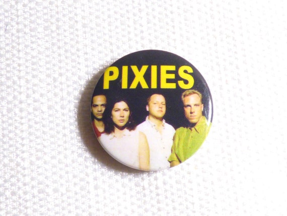 Vintage Late 80s or Early 90s Pixies - Pin / Butt… - image 1