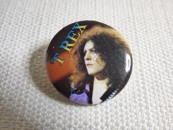 Vintage 90s Marc Bolan - T. Rex - Pin / Button / B