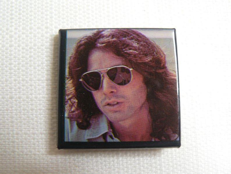 Button Late Vintage Doors Jim Badge Sunglasses Pin With 70s Morrison The VMpqUzGS