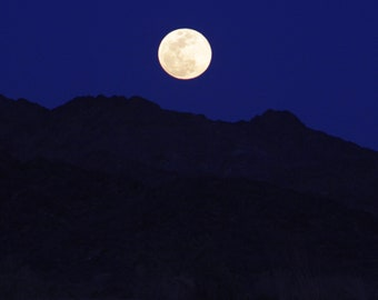 Mountain Moonrise Photographic Print