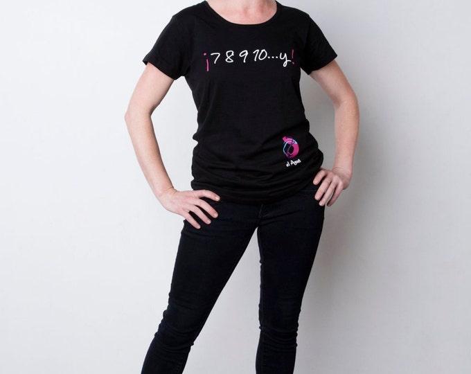 """Flamenco T shirt """"7 8 9 10...y!"""""""