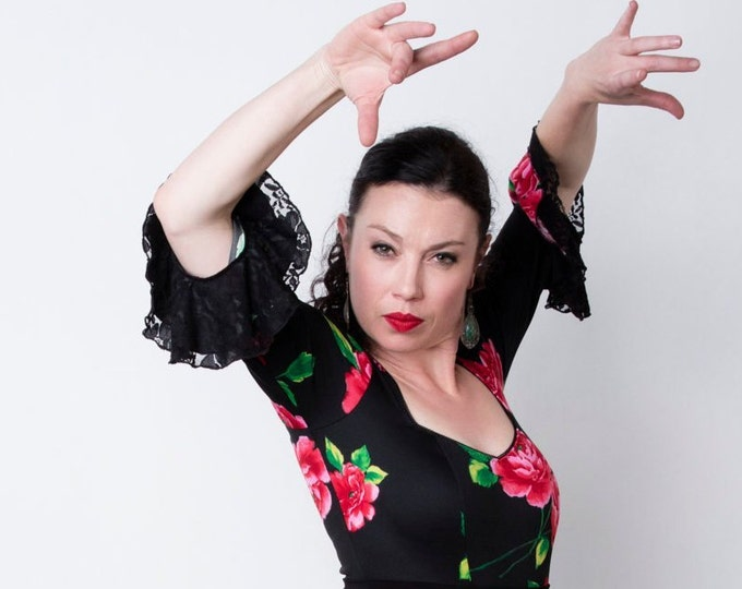 SEVILLA Flamenco top