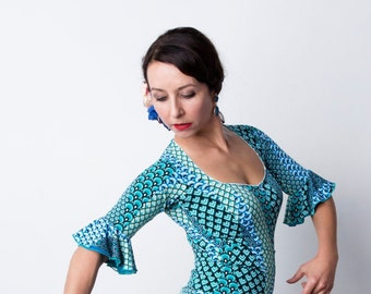 NATHALIA Flamenco top