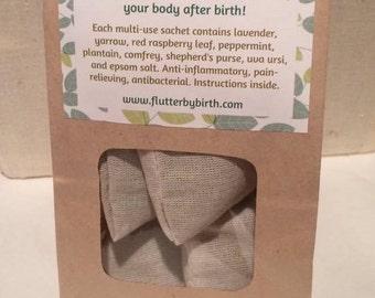 Postpartum Herbal Bath