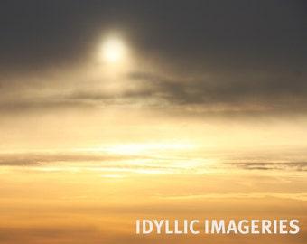 Winter sky (1), Belgium