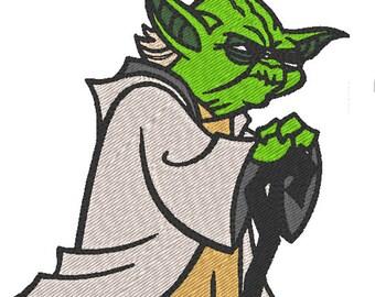 Yoda - Star Wars  (embroidery design)