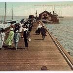 Provincetown postcard, Provincetown, Cape Cod, Vintage Postcard, Cape Cod Ephemera, Cape Cod Vintage, Provincetown