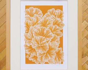 Fungi A4 print