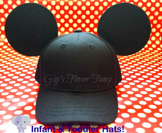 Baby   Toddler Mickey Mouse Inspired Baseball Caps Fits Up  696607fc50a