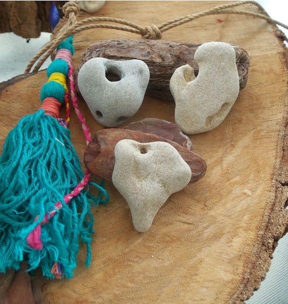 Heart Shaped Rock Heart Stone Hag Stone Love Gift Natural Etsy During samhain, a charm of a hag stone is usually suspended on a red cord, because. etsy