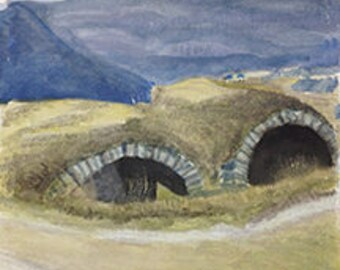 Irish Landscape Card Set