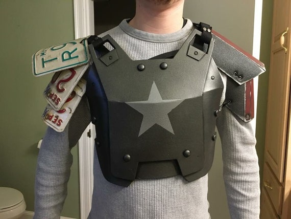 Fallout 4 Combat Armor EVA foam armor cosplay costume Chestpiece armor Mad  Max POST APOCALYPTIC cosplay