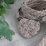 ORDER UPGRADE ~ add a Celtic heart knot to your Fable & Drifter braided hemp wedding handfasting cord