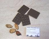 12 Raw handmade mini chocolates - Vegan chocolate - Raw chocolate - Healthy Sweets