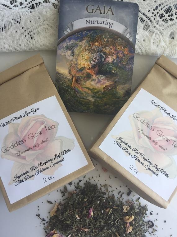 Goddess Glow Herbal Tea  for women