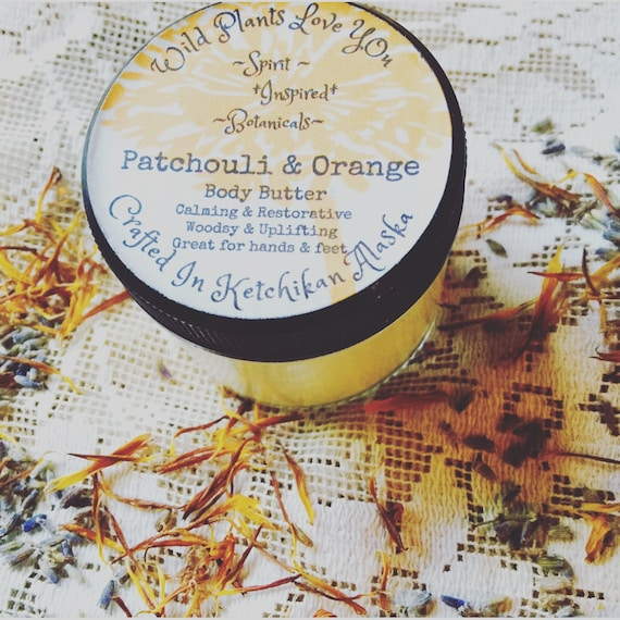 Patchouli and Orange body butter on sale!!!