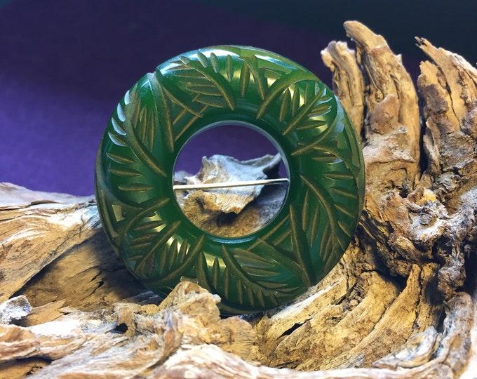 Green Bakelite