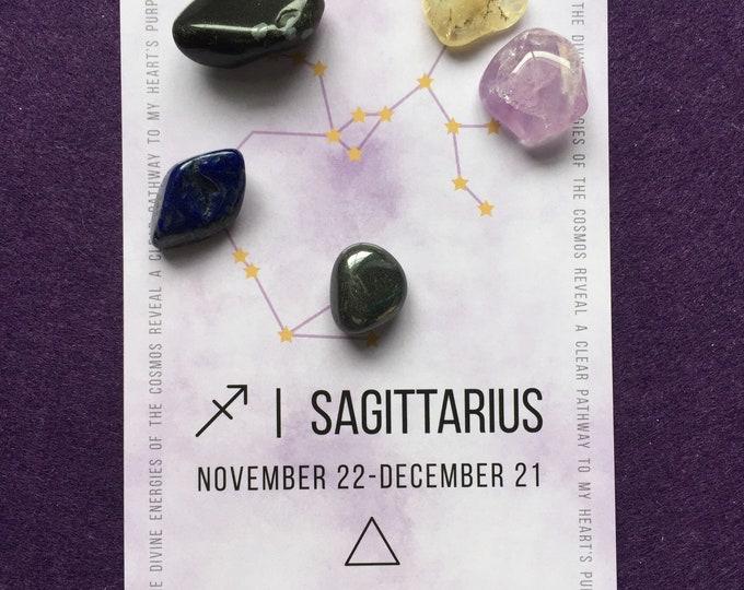 Sagittarius crystal grid