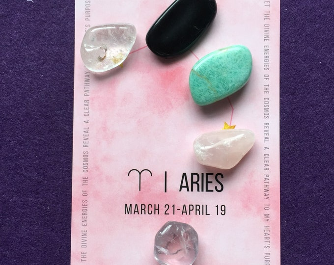 Aries crystal grid