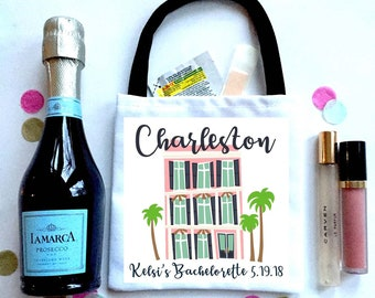 Charleston gift etsy charleston bachelorette or bridesmaid oh shit kits mini bachelorette bag custom empty hangover gift bag negle Gallery